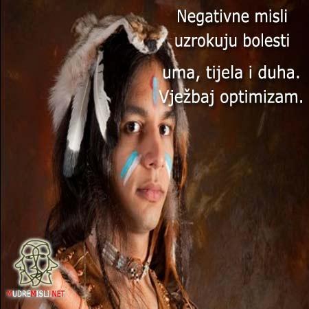 Negativne misli uzrokuju bolesti uma, tijela i duha. Vježbaj optimizam.